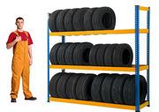 Сезонное складское хранение шин,  велосипедов,  спортивного инвентаря.