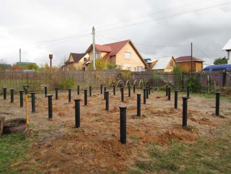 Свайно-винтовой Фундамент под ключ в Новополоцке