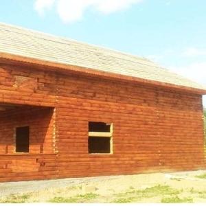 Дом-Баня из бруса готовые срубы с установкой-10 дней Новополоцк
