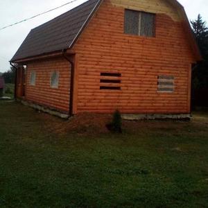 Дом-Баня из бруса готовые срубы с установкой-10 дней недорого Полоцк