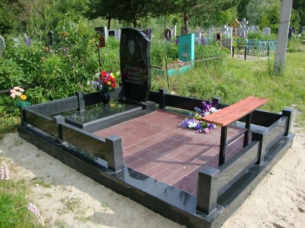 Памятник под ключ,  благоустройство могил. Полоцк и рн 3