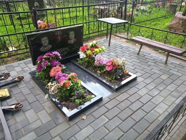 Памятник под ключ,  благоустройство могил. Полоцк и рн 4