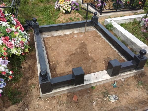 Изготовление памятника недорого. Благоустройство могил Новополоцк и рн 6