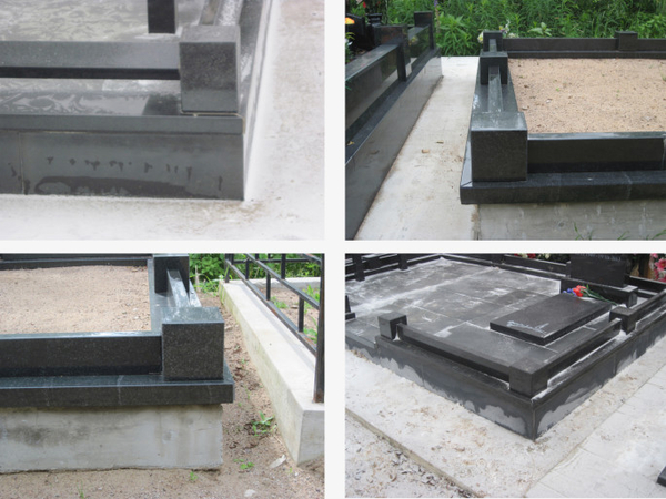 Памятник под ключ,  благоустройство могил. Полоцк и рн 5