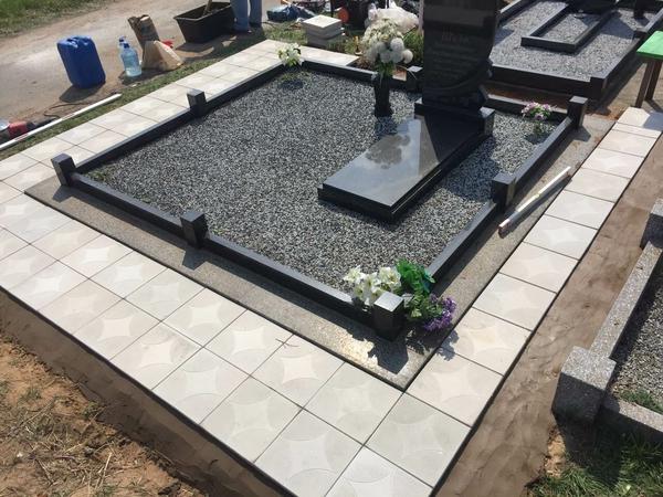 Памятник под ключ,  благоустройство могил. Полоцк и рн 6