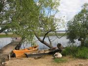 Участок с домом рыбака