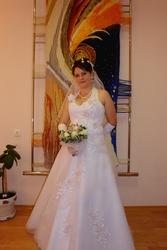 Продам свадебное платье (пр-во Италия)